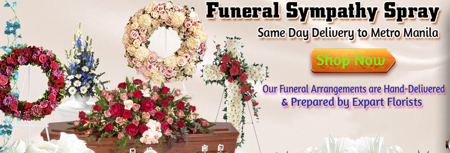 Send Funeral Flower To Cebu Delivery Funeral Flowers To
